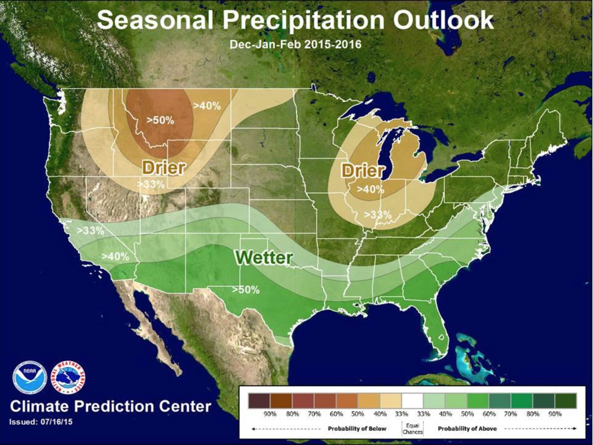 winter weather forecast could mean flood damage for San Diego CA