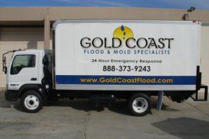 Gold Coast Flood Restorations Truck