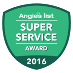 Angie's List Super Service Award for Gold Coast Flood Restorations