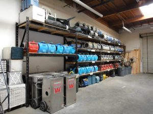 Drying equipment rental San Diego CA