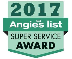 Water Damage Restoration Company earns Angie's List Super Service Award